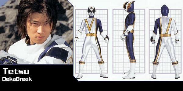 Tokusō Sentai Dekaranger / Power Ranger SPD Deka-rg-tetsu