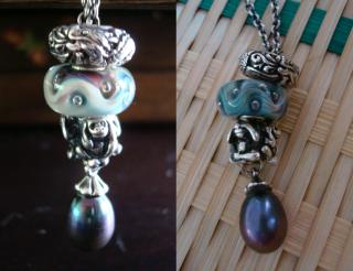 Short fantasy necklace designs Silvers