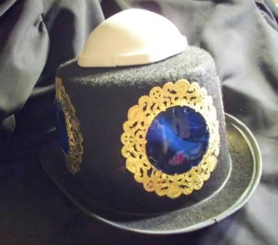 Nautilus themed top hat need advice. Dome