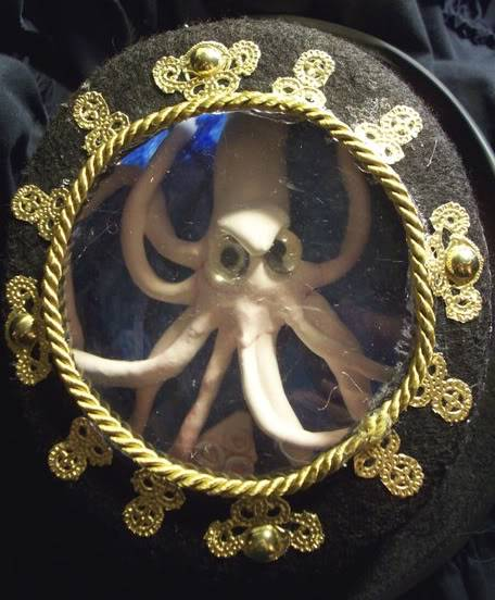 Nautilus themed top hat need advice. Sqiddyathome