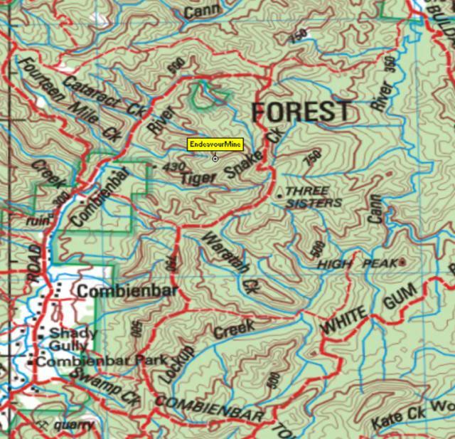map coordinates for Baby Endeavour Mine Combienbar TigerCreek_zpseb5500ec