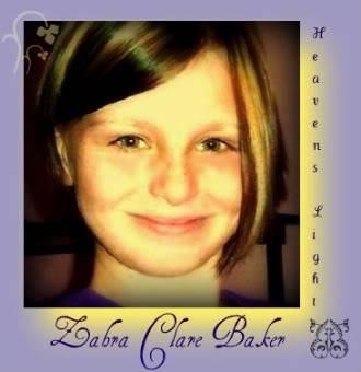 In Loving Memory Zahra Clare Baker ZahraClareBaker1