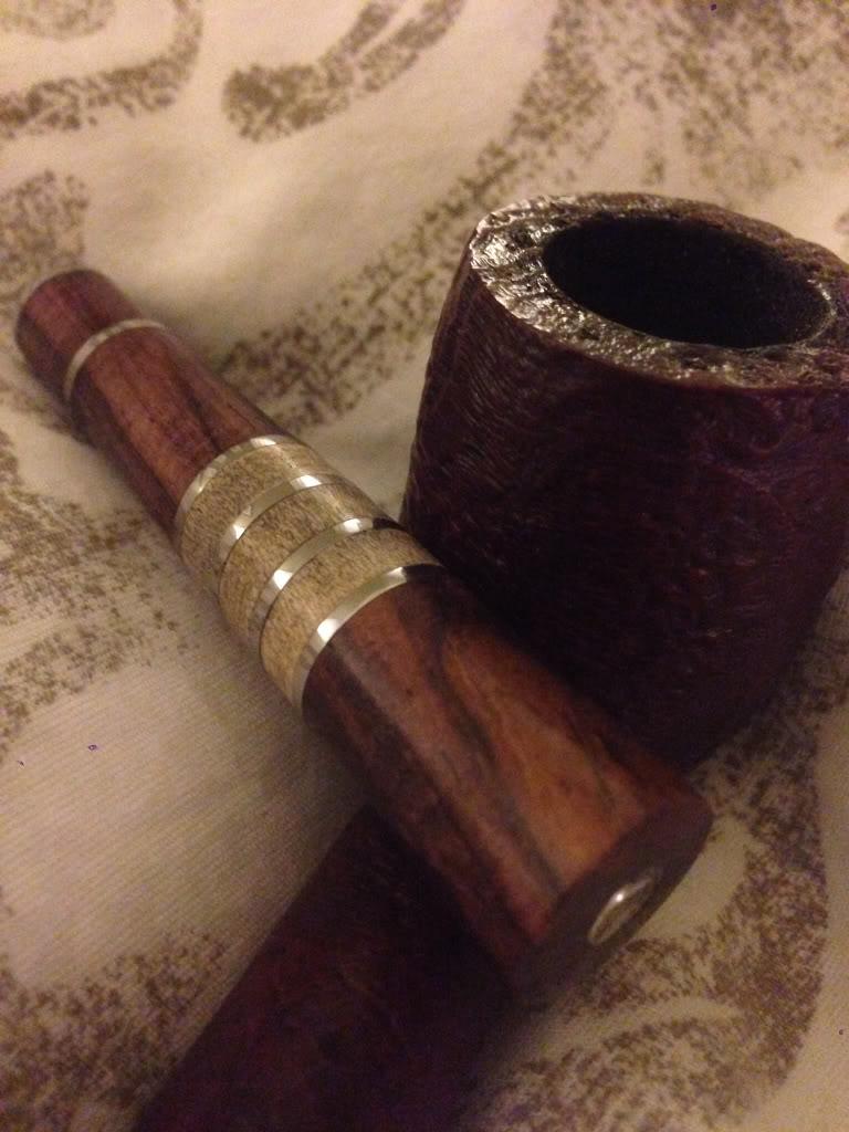 Homemade fancy pipe tamper Dede871faf85c64af9f03a636ee81ee2