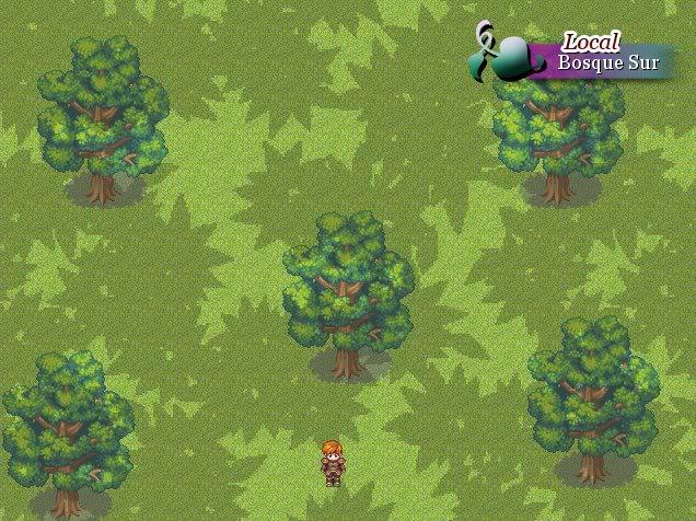 [RPG Maker XP] Mostrar nombre en el mapa - Moghunter Dibujo
