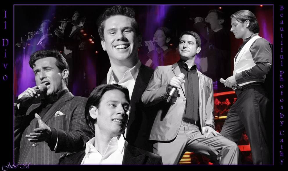 Il Divo Wallpaperscollages