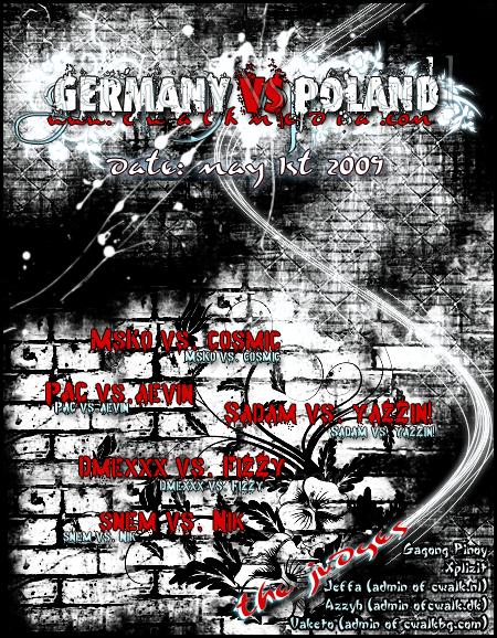 Cwalk Media presente : Allemagne vs. Pologne Hre9g2