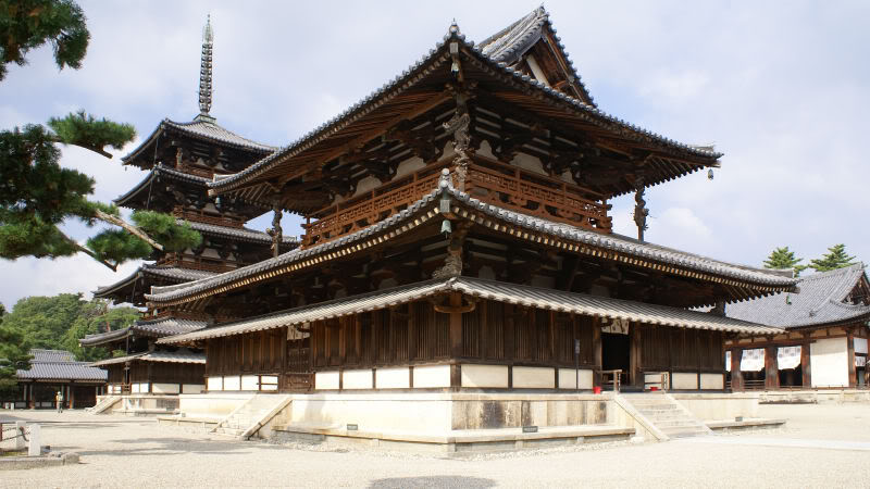 [Du lịch] Di sản văn hoá UNESCO ở nhật Horyu-ji