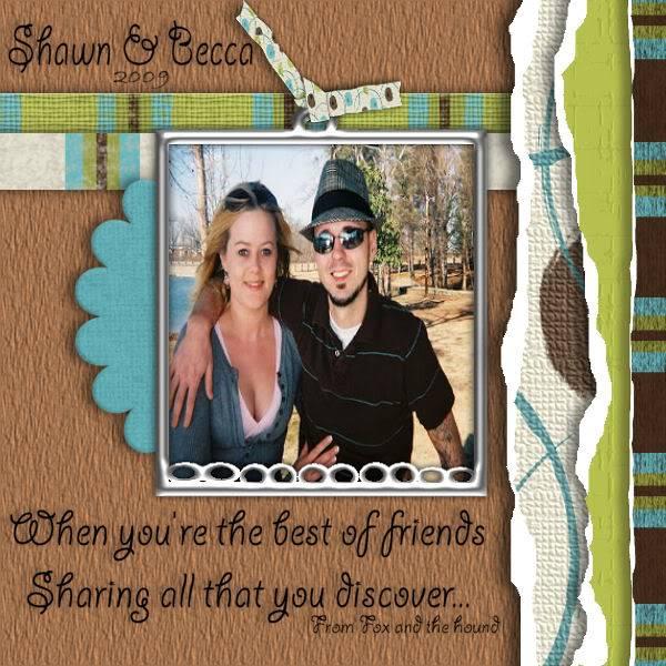 APRIL'S LYRIC CHALLANGE!  Lets be Friends! ShawnBecca