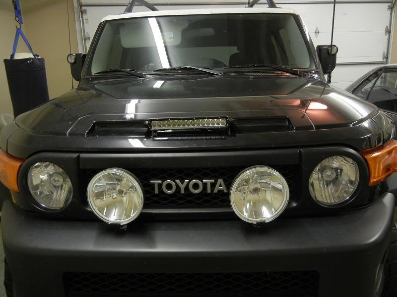 Anyone seen hood mounted LED's? RIGID1