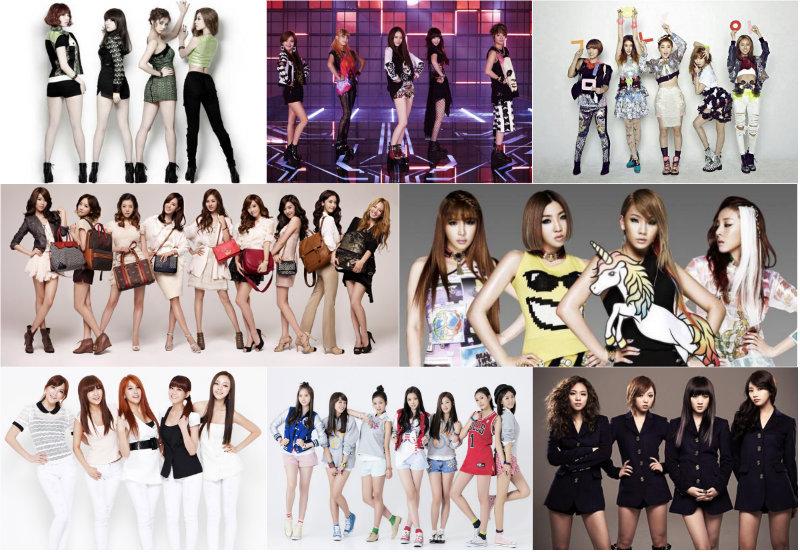 Clasificación de los fandoms de los grupos K-Pop femeninos: ¿Quién tiene más fans? Girl-Groups_zpse94b95ad