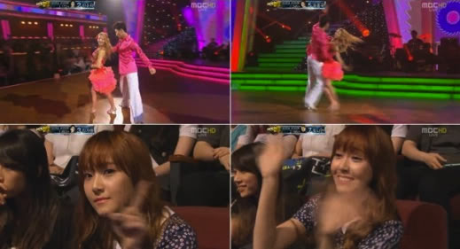 """[INFO] Jessica visita a Hyoyeon en """"Dancing With The Stars 2″ HyoDWTS2Jess"""