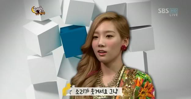 Taeyeon explica porqué se rie de chistes que involucran pedos TaeFlart00