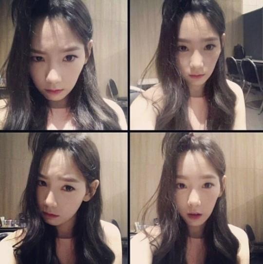 Taeyeon de Girls' Generations revela unas adorables selcas Taeyeon-selca_zps1deee31b