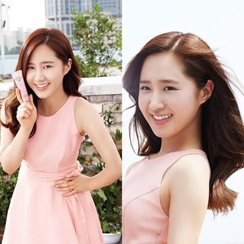 Yuri de Girls' Generation luce encantadora en un vestido color damasco YuriMamonde