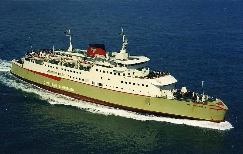 Free Enterprise V - A 1970's cross-channel ferry Fe531