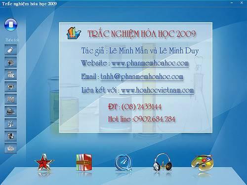 Phần mềm trắc nghiệm Hoá học 2009 (Phần mềm Việt) Phan20mem20trac20nghiem20hoa20hoc20