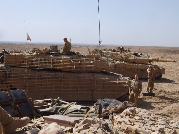armour in Afghanistan L11