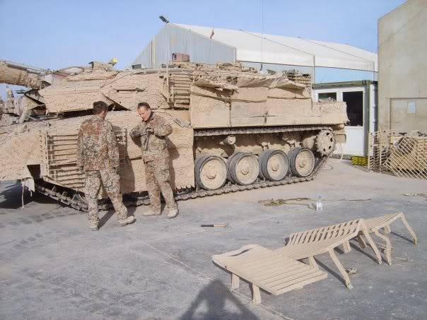 armour in Afghanistan L15