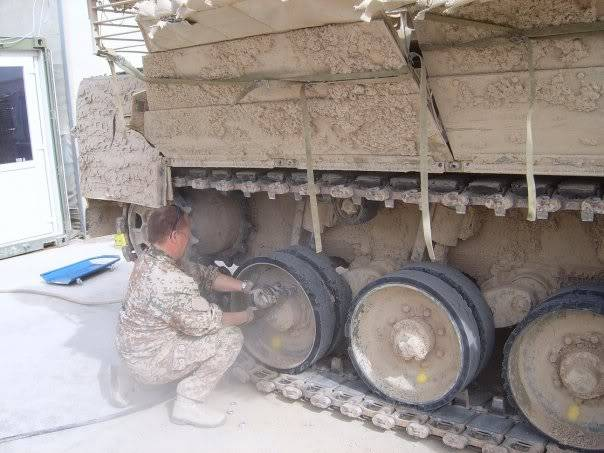armour in Afghanistan L18