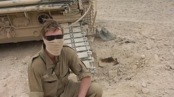 armour in Afghanistan L5