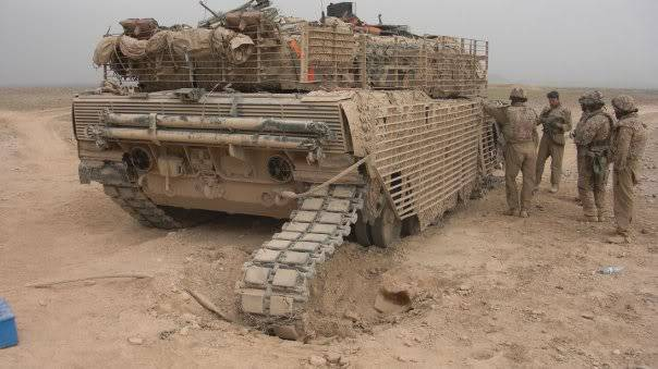 armour in Afghanistan L9