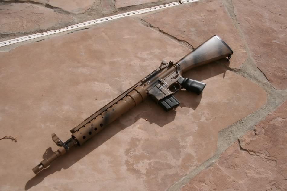 M4 IPSC/USPSA style Racegun - WIP - 56K no bueno... Spr