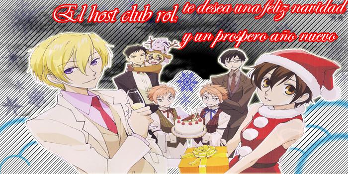 EL HOST CLUB: foro rol