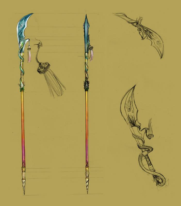 Saintclaire, Luna Weapon_anime