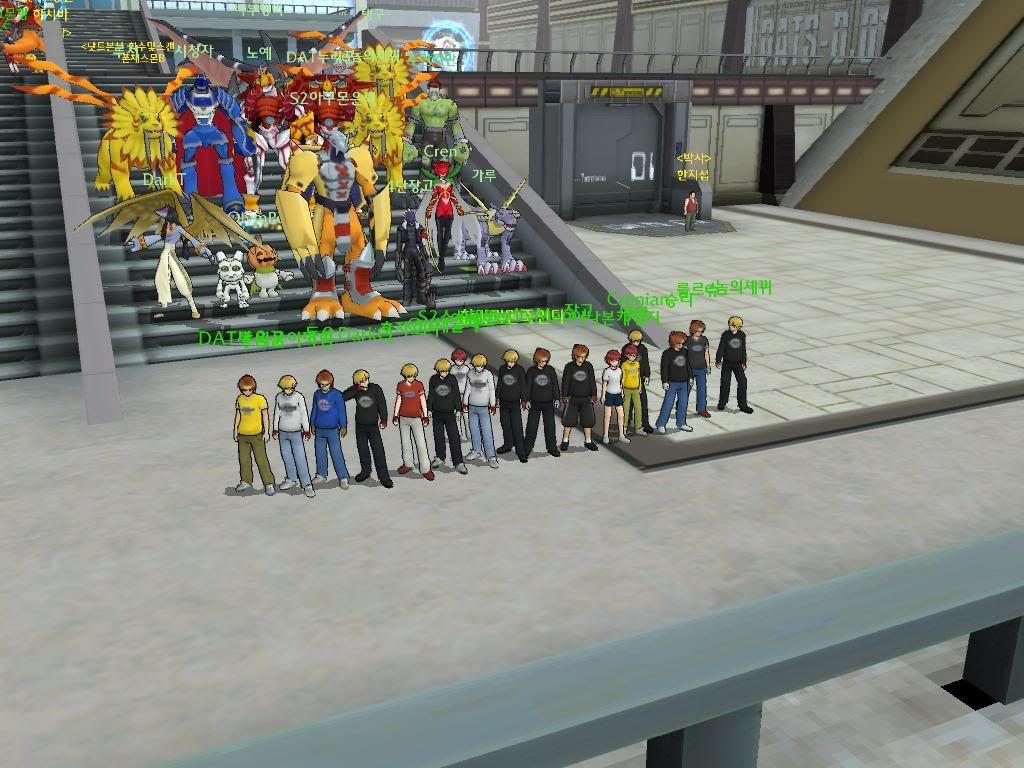 DIGIMON MASTERS ONLINE Digimonsevers2