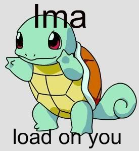 YLYL you laugh you lose Squirtle