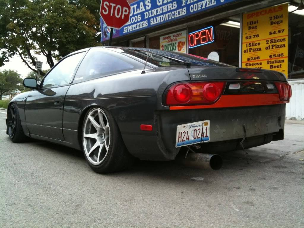 Just when you thought I was done. Dave's 180SX build.  IMG_0152