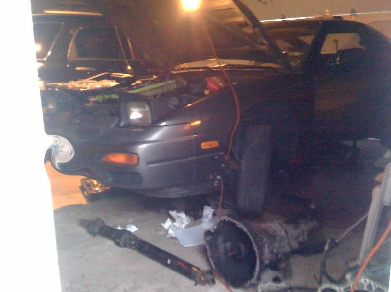 Just when you thought I was done. Dave's 180SX build.  Photo21