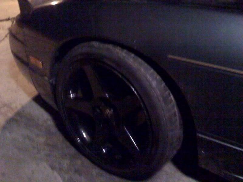 Just when you thought I was done. Dave's 180SX build.  Wheels