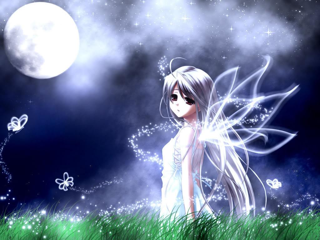 صور انمى تحت ضوء القمر  Anime_girl_wallpaper