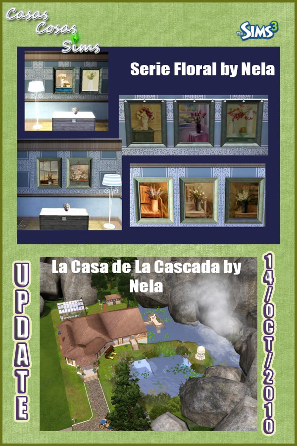 The Sims 3 Updates - 16/10 -> 23/10/2010 Casascosassims