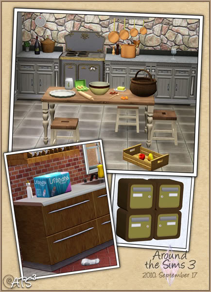 The Sims 3 Updates - 25/09 -> 30/09/2010 ATS
