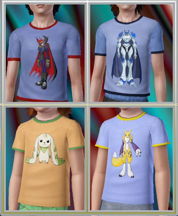 The Sims 3 Updates - 30/09 -> 07/10/2010 MTS_digimonTshirts