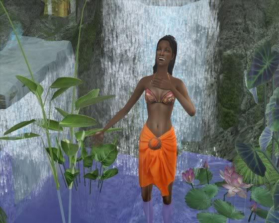 O que SimCeleste anda fazendo no jogo! Waterfall1