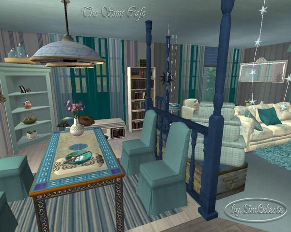 AquaBlue Cottage by SimCeleste AquaBlue45