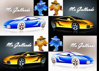 8 roues en K'nex MrGallardo-1