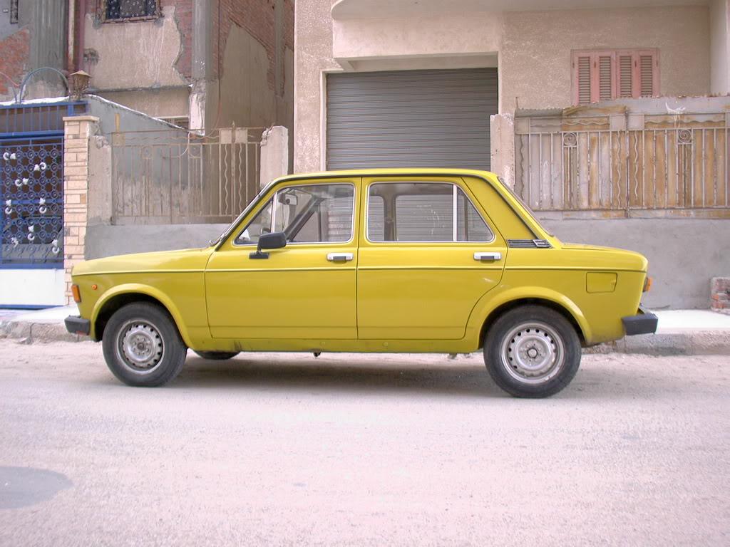 Kjærlighet jeg ikke glemmer Fiat1281100cc