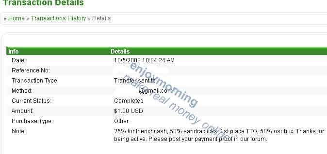 SEPTEMBER CONTEST REWARD PAYMENT September2008-payment1