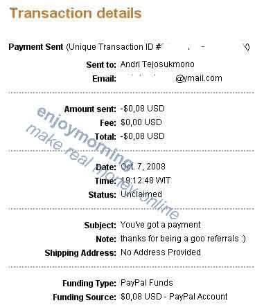 SEPTEMBER CONTEST REWARD PAYMENT September2008-payment2