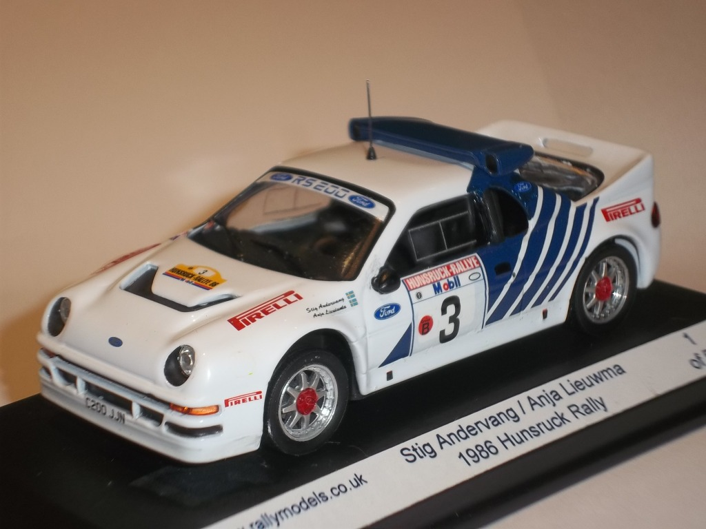 Latest Code 3's from Rallymodels.... Gb68ccc