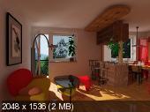 Рендер проекта из Аркон в Синеме - Страница 13 21f413523d3d723cbd3459bb45fa229d