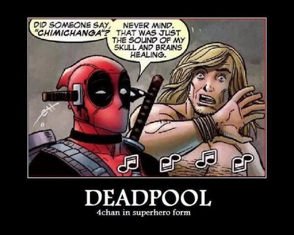 BECAUSE EVERY FORUM NEEDS A FUNNY PICTURE THREAD Deadpool