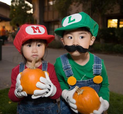 Cosplay ._. Mario-kids-cosplay