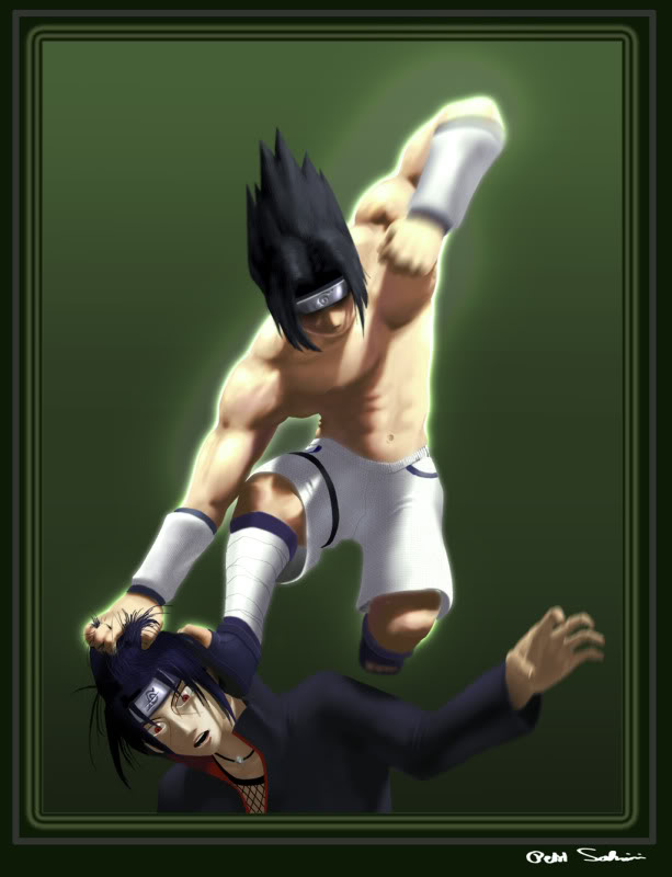 "Meian's ""Training"" Area [Furu + Meian Only; Private] Sasuke_vs__Itachi_by_SquizA"