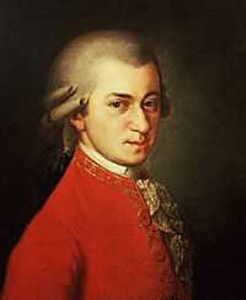 When heroes die young Mozart