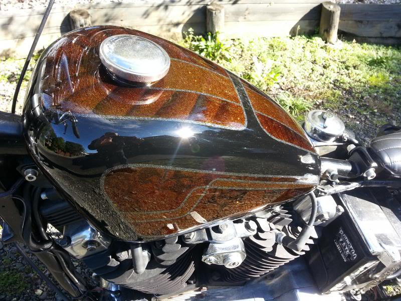 Jon's 76 ironhead custom thingy 20130630_113720